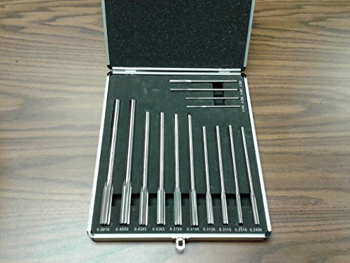 (14pc/Set Chucking Reamers, Over & Under Sizes HSS)