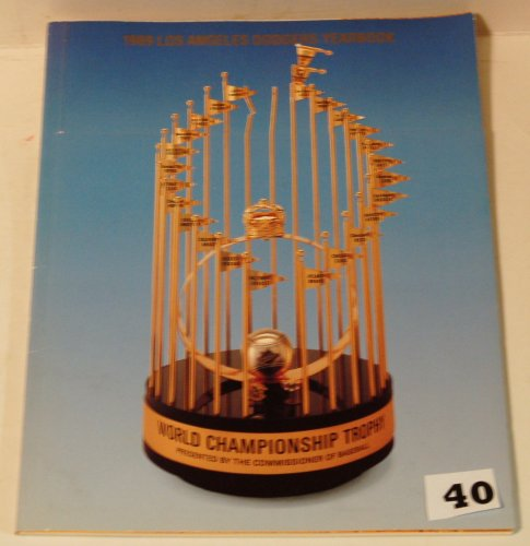 1989 Los Angeles Dodgers Yearbook