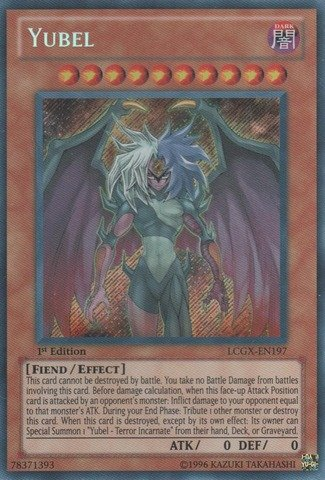 Yu-Gi-Oh! - Yubel (LCGX-EN197) - Legendary Collection 2 - 1st Edition - Secret Rare