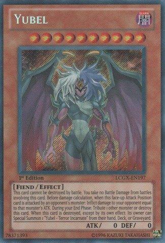 Yu-Gi-Oh! - Yubel (LCGX-EN197) - Legendary Collection 2 - 1st Edition - Secret Rare (Best Fiend Monsters Yugioh)