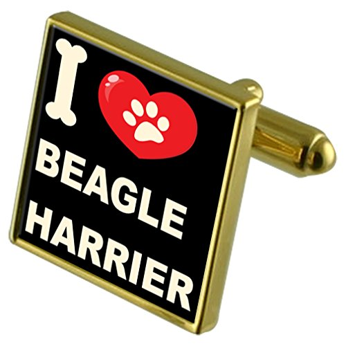 Dog Love Money Tone Select Gifts My Clip I Beagle Cufflinks Harrier amp; Gold WqqIHfc