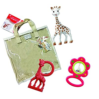 Vulli Sophie la Giraffe Cotton Gift Bag, Assorted Colors : Baby