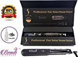 Steam Hair Straightener, work with Argan Oil Infusion Treatment,...