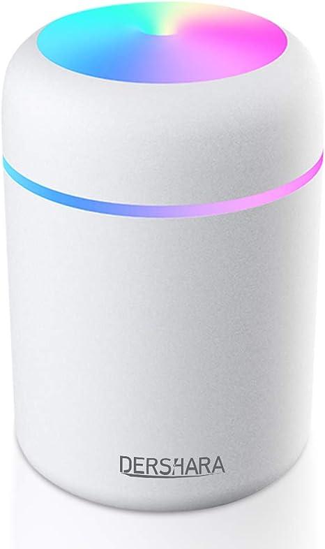 ZYCX123 2 in 1 Miniauto-Luft-Befeuchter Tragbarer Aromatherapie /ätherisches /Öl-Diffusor f/ür alle Autos Blau