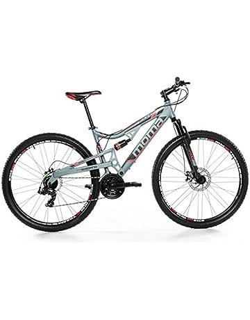 Mountain Bike Sport E Tempo Libero Hardtail Doppia Sospensione E