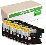 Inkjetcorner 7 Pack Black Compatible Ink Cartridges Replacement for LC203 LC203XL for use with MFC-J460DW MFC-J480DW MFC-J485DW MFC-J680DW MFC-J880DW MFC-J885DW