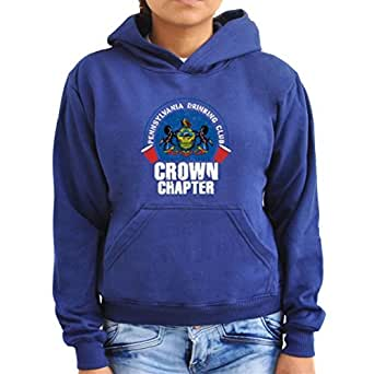 Pennsylvania drinking club crown chapter Women Hoodie
