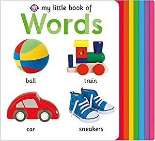Book Cover: My Little Book of Words
