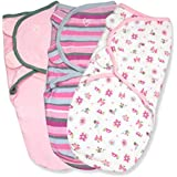 SwaddleMe Original Swaddle 3-PK, Girly Bug (SM)
