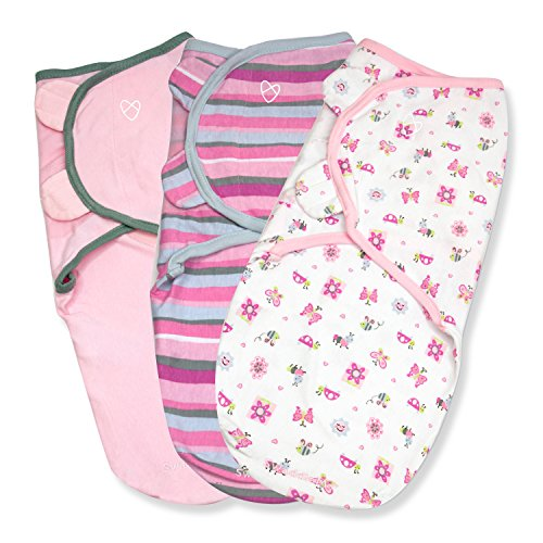 SwaddleMe Original Swaddle 3 PK Girly product image