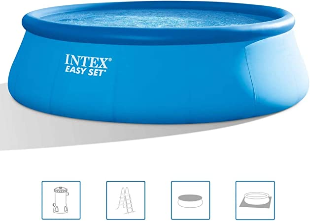vidaXL Intex 26168NP - Piscina (457 x 122 cm): Amazon.es: Hogar