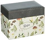 C.R. Gibson Q2-20809 Recipe Box, 6.5'' x 4.25'' x 4.75''