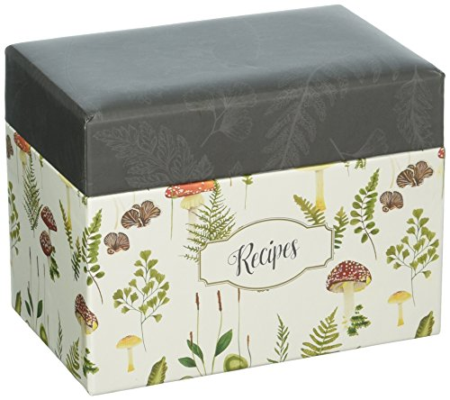 C.R. Gibson Q2-20809 Recipe Box, 6.5'' x 4.25'' x 4.75'' by C.R. Gibson