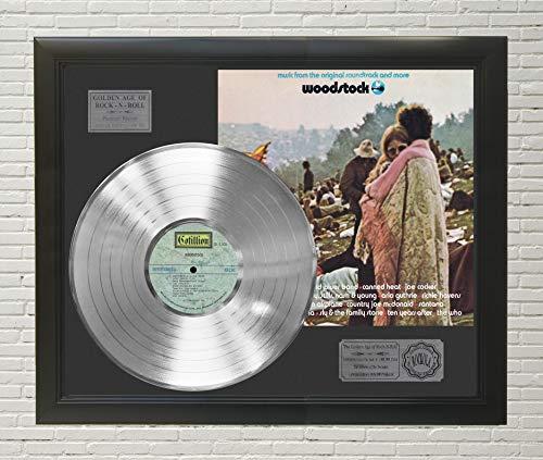 During Woodstock Music - Woodstock Framed Platinum LP Display C3