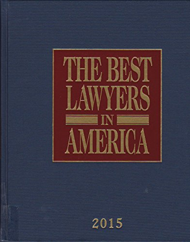 Book cover from The Best Lawyers in America 2015 by Steven Naifeh