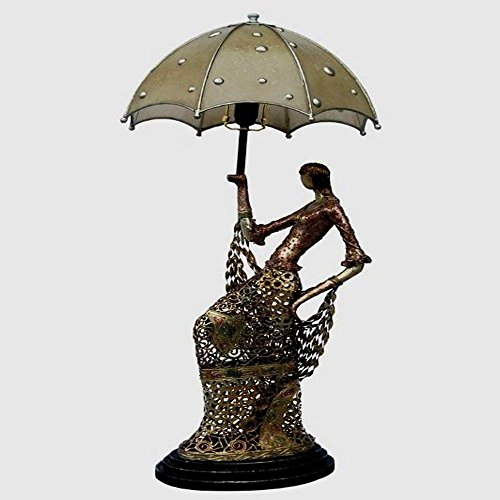 DMMSS Sexy Beauty With An Umbrella-Like Table Lamp by DMMSS Pyjamas