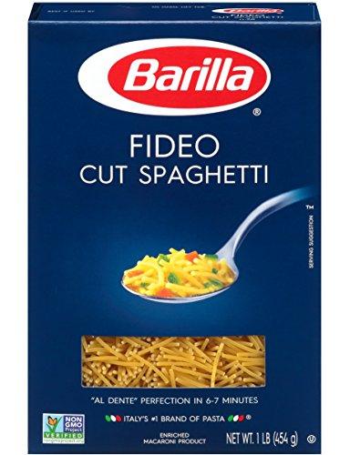 Fideo Pasta - Barilla Fideo Cut Spaghetti Pasta 16 oz. (Pack of 2)
