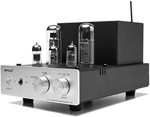 RFTLYS EA1A Headphone Amplifier Integrated Amp Wireless Bluetooth EL34 Tube Class A Single-Ended Silver