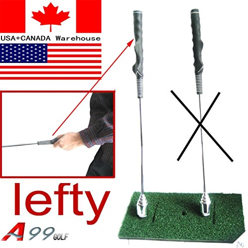 A99 Golf Swing Trainer Stick Warm up Practice Club for left handed golfer - Practice Stick Golf