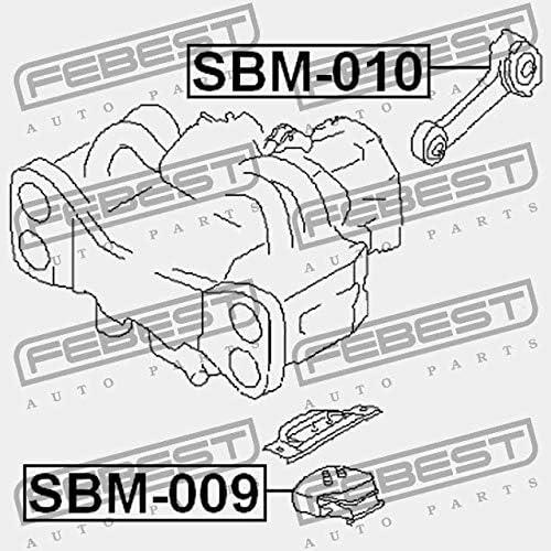 SUPPORTO MOTORE ANTERIORE SBM-009 Febest