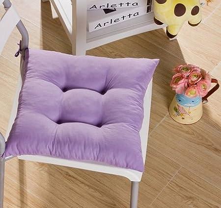 Tia-Ve Soft sedia cuscino Seat Pad sedile cuscino cucina giardino da pranzo sedia 40x40x8 Blu scuro