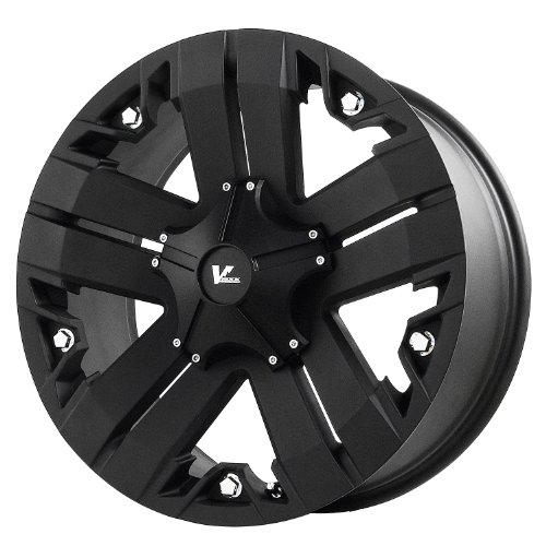 V-Rock Recon Matte Black Wheel with Painted Finish (18×9″/6×5.5″)