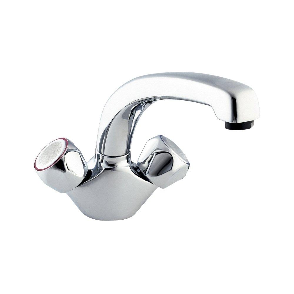 Deva DCM104 Profile Mono Kitchen Sink Mixer Tap with Chrome Finish ...