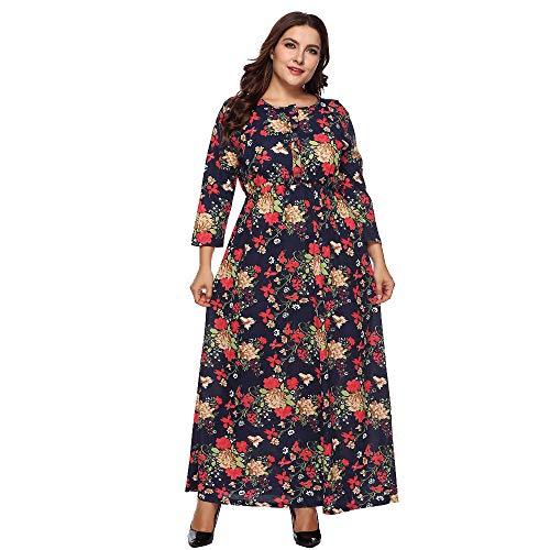 Luckycat Vestido de Fiesta Suelto Vestido de Fiesta Suelto Tobillo Vestido de Mujer Vestido de Fiesta Flojo: Amazon.es: Ropa y accesorios
