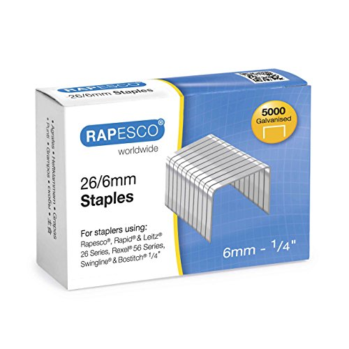rapesco-galvanised-26-type-1-4-staples-box-of-5000-s11662z3