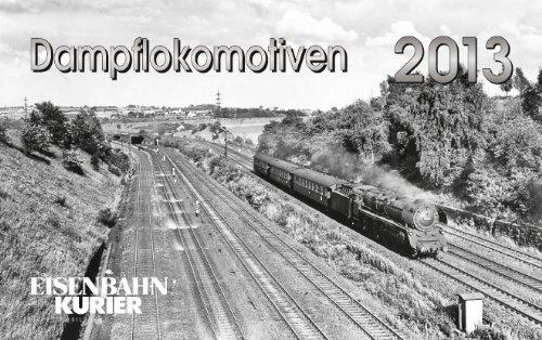 Dampflokomotiven 2013