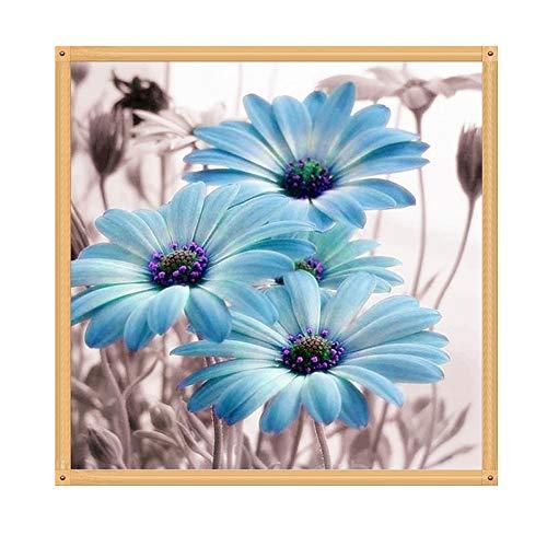 (Cimaybeauty 5D Chrysanthemum DIY Diamond Painting Embroidery Cross Craft Stitch Home Decor Art)