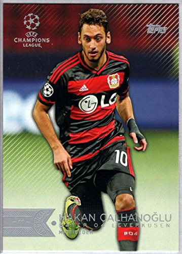 fan products of Soccer Pro 2015 Topps UEFA Champions League #113 Hakan Calhanoglu NM-MT
