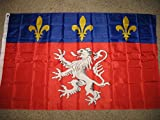 3X5 Ancient Banner Banniere Fleur De Lis 1365 France French Flag 3'X5' Grommets