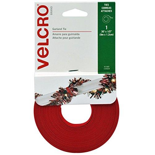VELCRO Brand - Holiday Garland Ties - 30' x 1/2