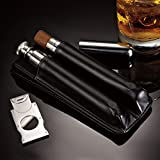 Cigar Lounge – Case, Cutter & Flask Review