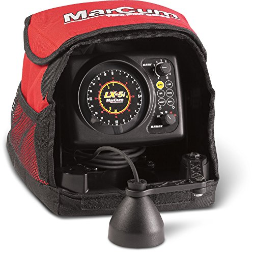 Sonar Flasher System - Marcum LX-5i Sonar Flasher System, Red/Black