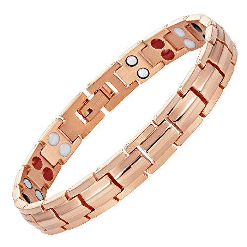 - Willis Judd Womens Strong 4 Element Titanium Magnetic Therapy Bracelet for Arthritis Pain Relief Size with Adjusting Tool and Gift Boxed