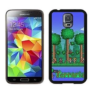 terraria Black Samsung Galaxy S5 Screen Cover Case Newest and Fashion Design