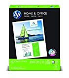 Home and Office Printer - HP Paper, Home & Office Paper Poly Wrap, 20lb, 8.5 x 11, Letter, 92 Bright, 300 Sheet / 1 Ream (200300R) Made In The USA