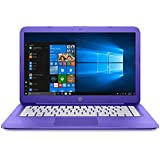 2018 HP Stream 14 inch Flagship Laptop (Intel Celeron N3050 1.6GHz, 4GB RAM, 32GB Solid State Drive, WiFi, HDMI, Windows 10 Home) Violet (Certified Refurbished)