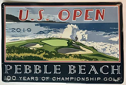 (2019 U.S. Open Pub Sign pebble beach golf new pga bar sign)