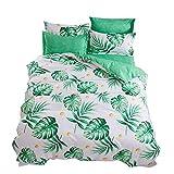 wsloftyGYd 4Pcs Cactus Flower Bedding Set Bed Sheet Pillow Case Duvet Cover Bedclothes 3#