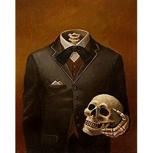 Skeleton Print – Headless – Skull Print – Victorian – Gothic – Steampunk