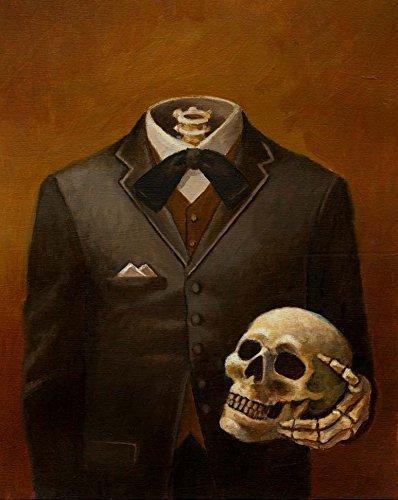 Skeleton Print - Headless - Skull Print - Victorian - Gothic - Steampunk 3
