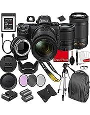 $2998 » Nikon Z6II Mirrorless Digital Camera 24.5MP W/Nikkor Z 24-70mm f/4 S & AF-P 70-300mm F/4.5-6.3 ED VR Lenses + 64GB G Series XQD Memory Card +Accessory Bundle (22 Pieces)