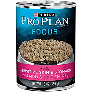 Purina Pro Plan FOCUS Sensitive Skin & Stomach Adult Canned Wet Dog Food 18