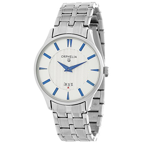 ORPHELIA Women's Analogue The Flatline Silver Stainless steel-62501
