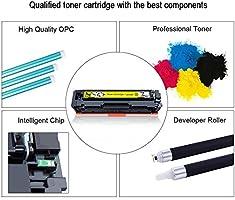 Cool Toner 410X 410A Cartucho de T/óner Compatible para CF410X CF410A para HP Color Laserjet Pro MFP M477fdw M377dw M477fnw M477fdn M452dn M452dw M452 M477 M377 Toner CF411X CF412X CF413X