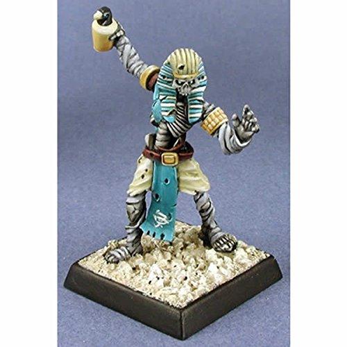 Sokars Prophet Nefsokar Cleric Miniature 25mm Heroic Scale Warlord Reaper Miniatures