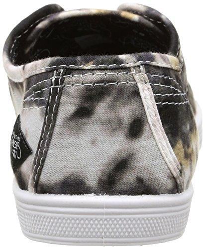 Le Zapatillas Cerises Des Temps 02 Shibori Negro Mujer Black Basic LTC HqBHnr